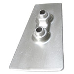 Tecnoseal Zinc Cavitation Plate Anode f\/Volvo DPH Outdrives