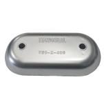 "Tecnoseal Magnesium Hull Plate Anode 8-3\/8"" x 4-1\/32"" x 1-1\/16"""