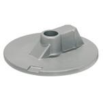 Tecnoseal Mercury\/Mercruiser Zinc Flat Trim Tab Anode - No Threads
