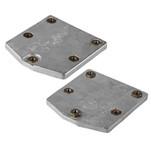 Tecnoseal Aluminum Mercury Zeus Pod Trim Tab Anode Kit w\/Hardware