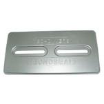 "Tecnoseal Aluminum Plate Anode - 12"" x 6"" x 1\/2"""