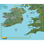 Garmin BlueChart g3 Vision HD - VEU004R - Irish Sea - microSD\/SD