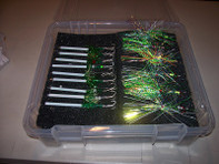 Amish Outfitters Mega Salmon Fly Caddy ( 6 pads) (#990)
