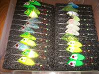 Amish Outfitters Mega Cut Bait Head Caddy (6 Pad)  (#973)