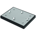 Cannon Deck Mount Plate - Track System