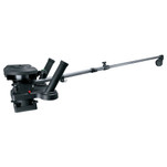 "Scotty 1116 Propack 60"" Telescoping Electric Downrigger w\/ Dual Rod Holders and Swivel Base"