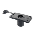 Scotty 244 Flush Deck Mount w\/Rain Cap
