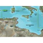 Garmin BlueChart g3 HD - HXEU013R - Italy Southwest  Tunisia - microSD\/SD