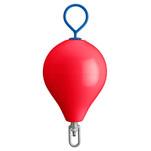"Polyform Mooring Buoy w\/Iron 13.5"" Diameter  - Red"