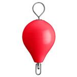 "Polyform Mooring Buoy w\/SS 13.5"" Diameter - Red"