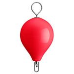 "Polyform Mooring Buoy w\/SS 17"" Diameter - Red"