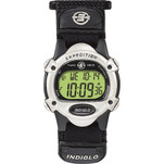 Timex Expedition Womens Chrono Alarm Timer - Silver\/Black