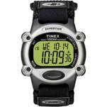 Timex Expedition Mens Chrono Alarm Timer Silver\/Black