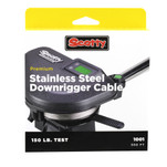Scotty 2401K High-Performance SS Downrigger Cable - 300'