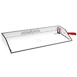 "Magma Bait\/Filet Mate Serving\/Cutting Table - 31"" - White\/Black"