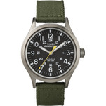 Timex Expedition Scout Metal Watch - Green\/Black