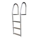 Dock Edge Fixed Eco - Weld Free Aluminum 3-Step Dock Ladder