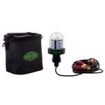 Hydro Glow HG45 45W\/12V Deep Water LED Fish Light - Green Globe Style