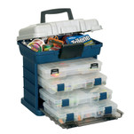 Plano 4-BY 3600 StowAway Rack System - Blue\/Silver