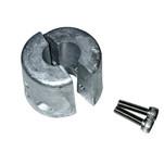"Tecnoseal De-Icer Anode - .50"" Aluminum - 1\/2"" Shaft - .5HP\/.75HP"