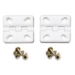 Cooler Shield Replacement Hinge f\/Coleman  Rubbermaid Coolers - 2 Pack
