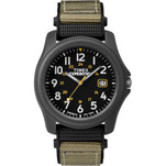 Timex Expedition Camper Nylon Strap Watch - Black