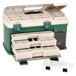 Plano 3-Drawer Tackle Box XL - Green\/Beige