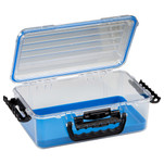 Plano Guide Series Waterproof Case 3700 - Blue\/Clear