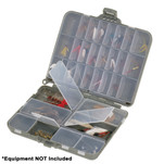 Plano Compact Side-By-Side Tackle Organizer - Grey\/Clear