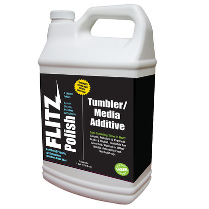 Flitz Polish\/Tumbler Media Additive - 1 Gallon (128oz)