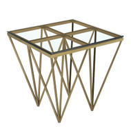 LUXOR GOLD END TABLE