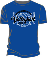 KMS Volleyball 19 Dry Blend T-shirt