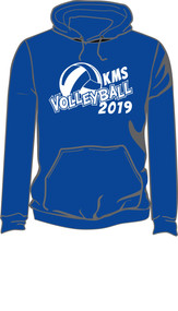 KMS Volleyball 19 Pull Over Hoodie