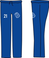 KMS Volleyball 19 Open Bottom Sweatpants with Pocket