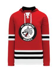 AK Hockey Jersey Replica Hoodie