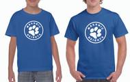 Adult & Youth Gildan® Heavy Cotton T-shirt Circle Logo (See Size Chart)