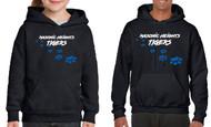 Gildan® Adult & Youth Hooded Sweatshirt Tigers Logo (See Size Chart)