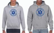 Gildan® Adult & Youth Hooded Sweatshirt Circle Logo (See Size Chart)