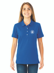 JERZEES® SpotShield™ Ladies' Jersey Sport Embroidered Polo