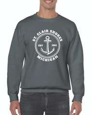 Gildan® Heavy Blend™ Adult Crewneck Sweatshirt Design 1