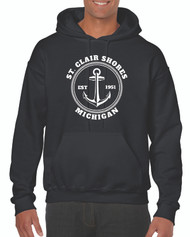 Gildan® Heavy Blend™ Adult Hooded Sweatshirt Design 1