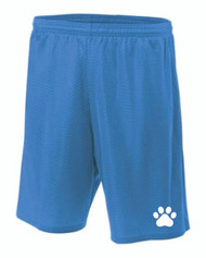"""A4®  Royal Blue Youth 6"""" Lined Tricot Mesh Short"""