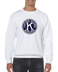 Gildan Heavy Blend Adult Crewneck Sweatshirt with Full Front Screen Printed Logo