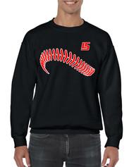 LS Baseball Gildan Heavy Blend Adult Crewneck Sweatshirt