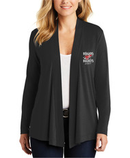 Rodgers Staff Port Authority Ladies Concept Open Cardigan with Embroidered Logo