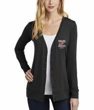 Rodgers Staff Port Authority Ladies Concept Cardigan with Embroidered Logo