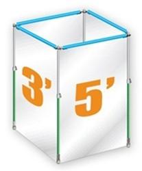 Curtain-Wall Cube Kit
