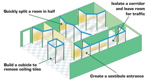 Curtain-Wall Cube Kit Deployment