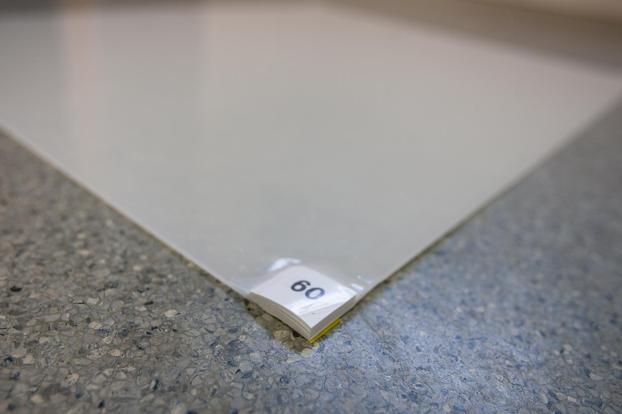 TackMat Clear Replacement Pads
