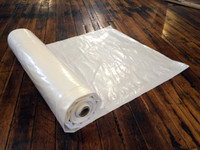 Flame-Retardant Plastic Sheeting 20' x 200'